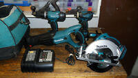 MAKITA LXT 18 VOLT 4 - TOOL KIT