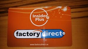 Factory Direct Gift Card