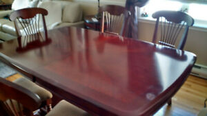 Dining Room Table...solid rosewood...no chairs..  best offer