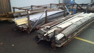 Crates of Vinyl Siding and Trims for Sale