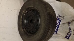 Michelin 215/60/R16 X-Ice (set of 4) with Rims