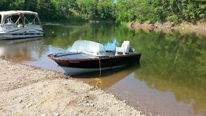 14 ft Boat and trailer for sale or trade