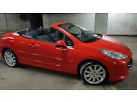 VERY CLEAN ,YEAR 2009 PEUGEOT 207CC GT,CONVERTIBLE,ONLY 51000 MILES,bmw,z4,z3,320.1,3,5,7,series,308