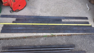 "2 1/2"" by 1/2"" Mild Steel flat bar"
