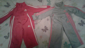 adidas track suits 12-18 mos