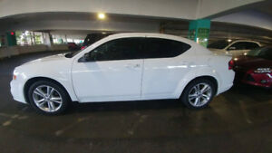 White 2013 Dodge Avenger SXT 130k