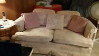 COUCH & LOVE SEAT ,EXTRA  SEATING