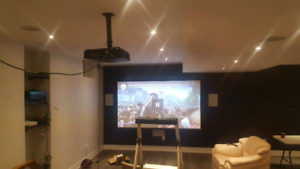 TV installations / TV Wall Mounting & Projector Ceiling Mount In