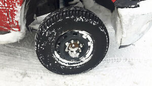 ram 2500 Winter rim and tire package