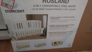 Crib for sale brand new in its box