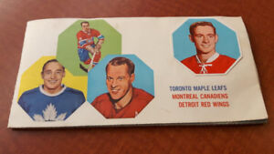 Cartes Hockey et Livre York Peanut Butter set complet 1963-1964