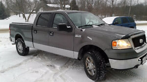 2006 Ford F-150 Silver Pickup Truck