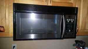 FREE  over the range style microwave