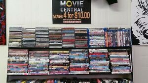 dvd movies , 4 for $10.00