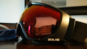 ZEAL HD2 CAMERA GOGGLES w VIEWFINDER - EXTRA CLEAR LENS