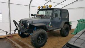 Beau jeep pour la bouette