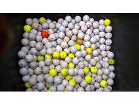 assorted golf balls 5000