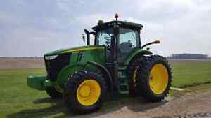 Retirement Sale.... 7230R  John Deere 230HP Tractor only 1100hrs