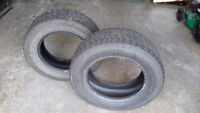 TWO ALL SEASON P245/65R17 TIRES FOR SALE
