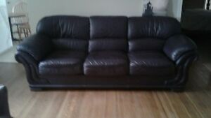 ALL LEATHER COUCH