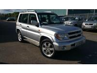 MITSUBISHI SHOGUN PININ GDI 4X4 ONE OWNER, FULL HISTORY LOW MILEAGE NEW CAM BELT