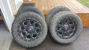 FUEL Rims and tires 33's
