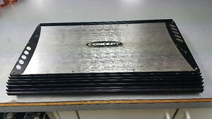 Concept CC-2502L Amplifier $165 OBO - 1500 watts
