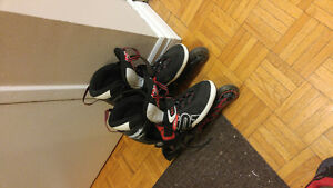 Roller Blades MOTO lightly used size 10