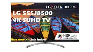 """LED TV 55""""lg-4k-ultra hd smart wifi-55sj8500-INBOX-warranty-$899"""