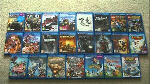 looking for PS Vita Games