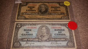 Looking to purchase any and all paper money pre 1988............ London Ontario image 2