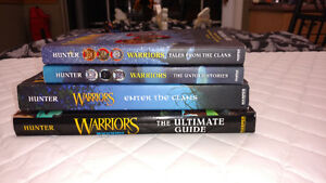 Warriors (Erin Hunter) The Ultimate Guide, Enter The Clans, ect.