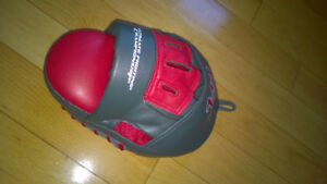 UFC  and Bushido Curved Leather Focus Mitts - Like New