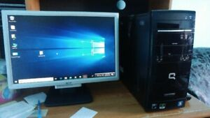 Desktop AMD Athlon 11 X2 @ 2.8 Ghz, 4 Gb DDR3 ,500 Gb Hardisk