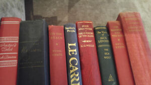 First Edition/vintage books by H.G.Wells, Le Carre, Shute &....