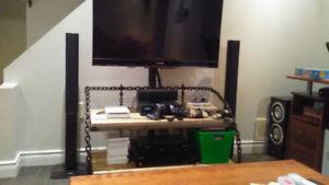 Meuble de télé artisanal