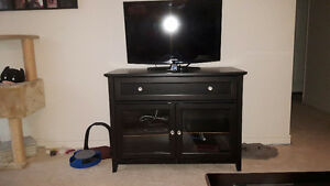 TV Stand with one top wide drawer and two doors