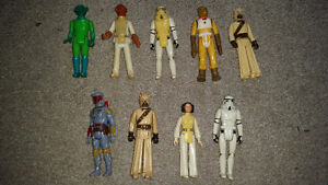 vintage Star Wars collectibles from 1977 year the movie came out London Ontario image 1
