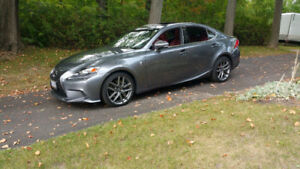 2014 LEXUS IS350 F-SPORT PREMIUM ** RARE MODEL * RWD 8 SPEED *