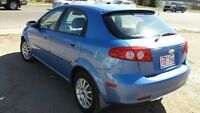 2005 Chevrolet Optra Hatchback with Sunroof