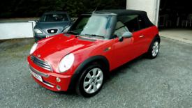 04 Mini One Convertible Red Elec Roof Mot 07/05/2022