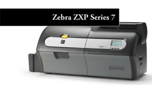 ZEBRA DOUBLE SIDE ID CARD PRINTER USED EXCELLENT