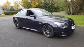 2007 BMW 525D M SPORT AUTOMATIC, FSH, ONLY 83K, 12 MONTHS MOT