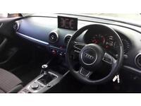 2014 Audi A3 1.4 TFSI 125 Sport 3dr Manual Petrol Hatchback