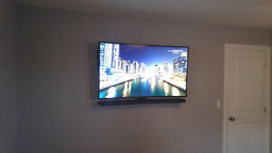 Experienced TV wall mounting services