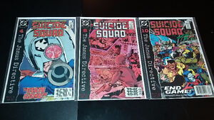For Sale: DC Comics Manhunter, The Flash, Suicide Squad Gatineau Ottawa / Gatineau Area image 2