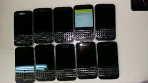 Lot of 10 Blackberry Classic for sale