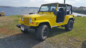 JUST REDUCED!!!!!  JEEP TJ SPORT Convertible 4x4 FOR SALE!!!