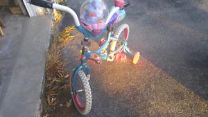 Little mermaid bike