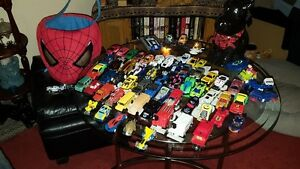 """""""63"""" -  Matchbox Cars and a Spiderman Cloth Basket!"""
